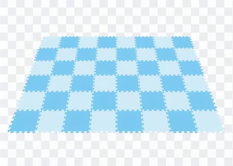 接頭材料(透視)藍色