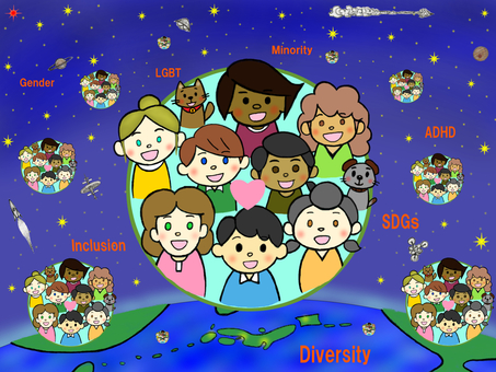 多樣性_多樣性的泡沫_世界上的人