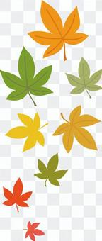 Autumn leaves point 2