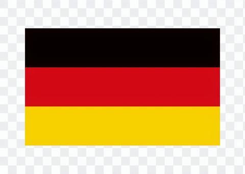 ドイツ 国旗 イラスト
