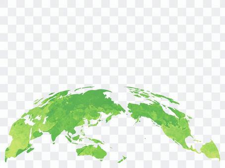 地球[8]水彩