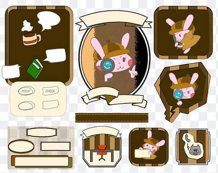 偵探兔插圖集
