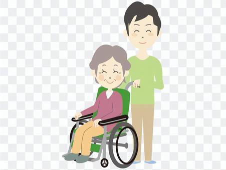 儿子和母亲