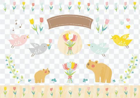 春天的动物
