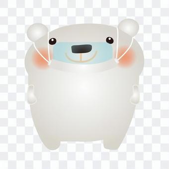 北極熊鼠標盾