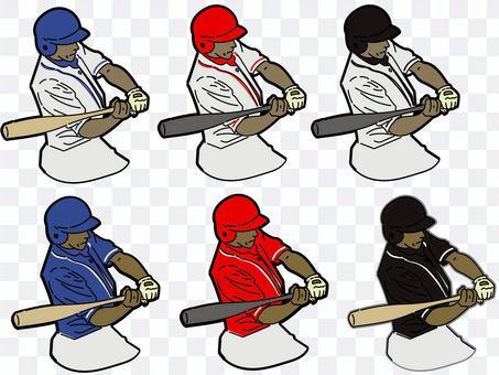 棒球擊球手