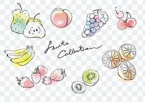 水果/水彩微风