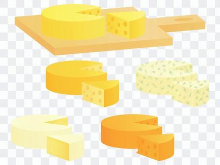 ホールチーズセット