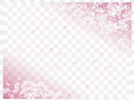 櫻花圖案3-2-1