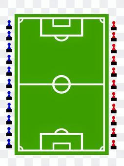 足球場戰略板/戰術板
