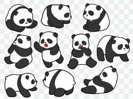 10種大熊貓