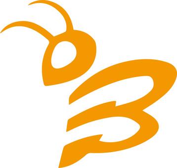 Bee icon illustration