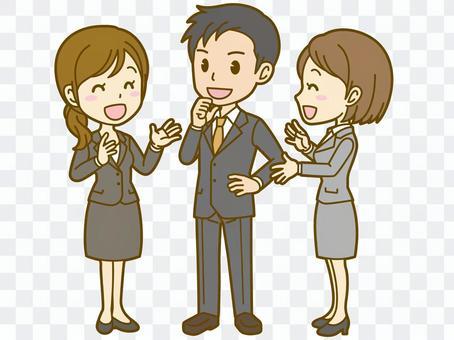 Company employee: Meeting 01FS