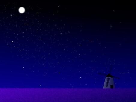 月亮和风车