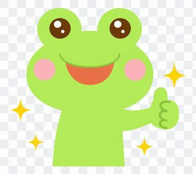 いいね グッド カエル 蛙 2