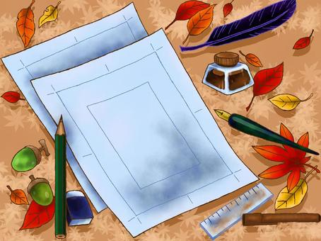 Manga manuscript