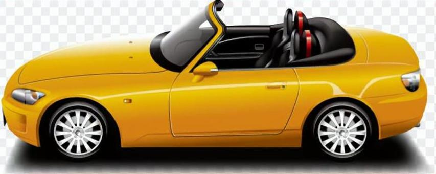 汽车(开车·黄)