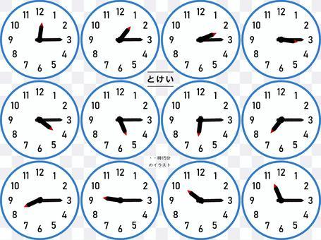 每小時15分鐘