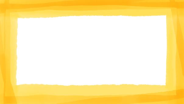 黃色水彩框16:9