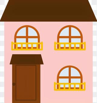 Two-story house ②