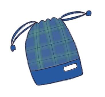 Drawstring purse 5 (color)