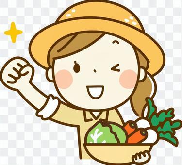 農夫的女人_膽量構成