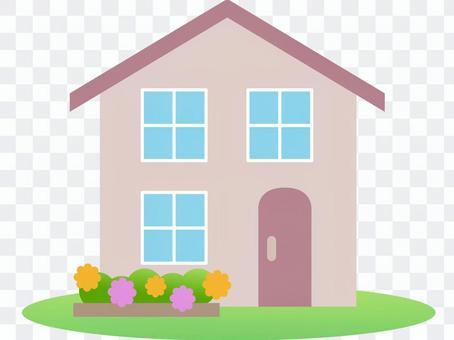 70111. Residential home, garden