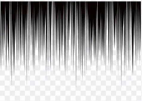 垂直速度線卡通效果線