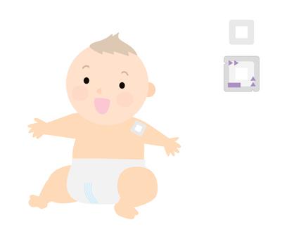 藥-支氣管擴張劑膠帶-嬰兒