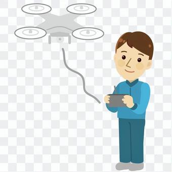 無人機操作無公頭線