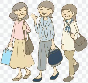 Travel women (senior)