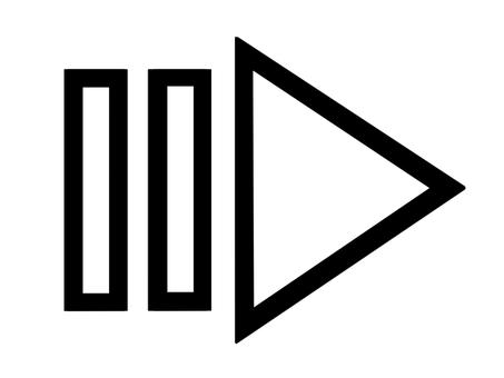 Arrow / white