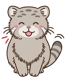 欣喜若狂的貓