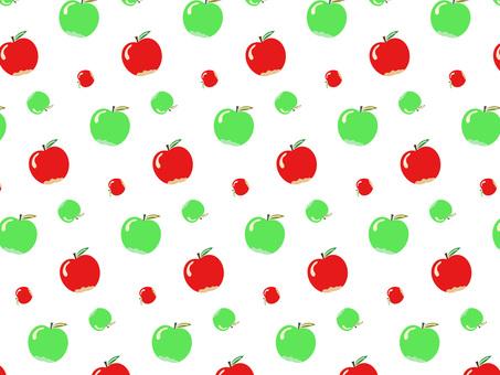 蘋果和青蘋果圖案背景材料