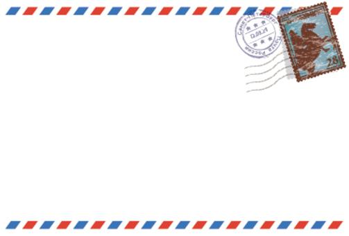 航空郵件樣式框架