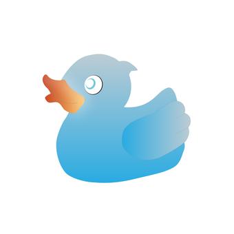 鴨子玩具(藍色)