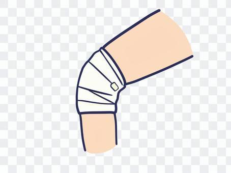 肘部/膝蓋受傷