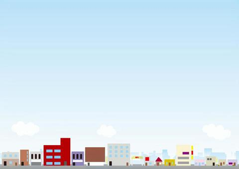 Cityscape Background Series Entertainment District