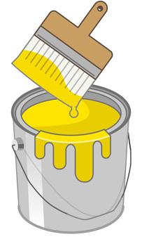 油漆可以變黃