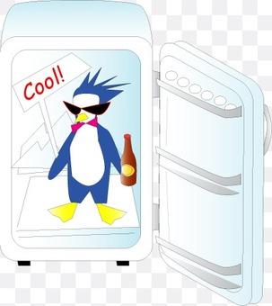 冰箱裡的企鵝很涼