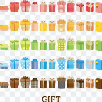 禮物盒集合