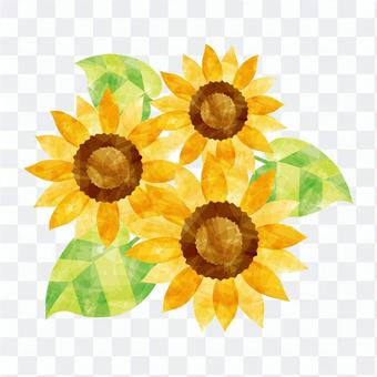向日葵三個輪子