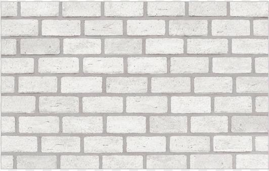 Brick wall white