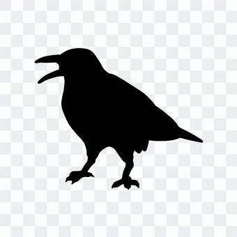 狡猾的烏鴉(剪影)