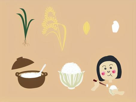 直到變成美味的白米飯