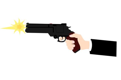 Shoot a pistol