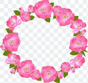 玫瑰花框架