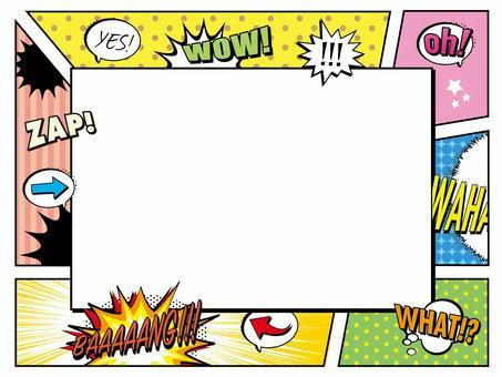 美國漫畫框架