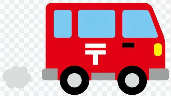 邮政派送车