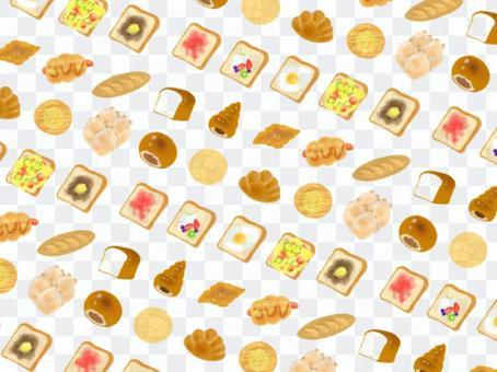 麵包背景/牆紙